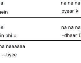 KiranGill06 tarafından Hook line for my music - Hindi için no 24