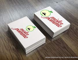 #37 for Seeking a new logo for a new brand dedicated to the apple  and fruits ! -- Recherche un nouveau logo pour une nouvelle marque éthique se déclinant sur le pomme et les fruits ! af EMinfographistes