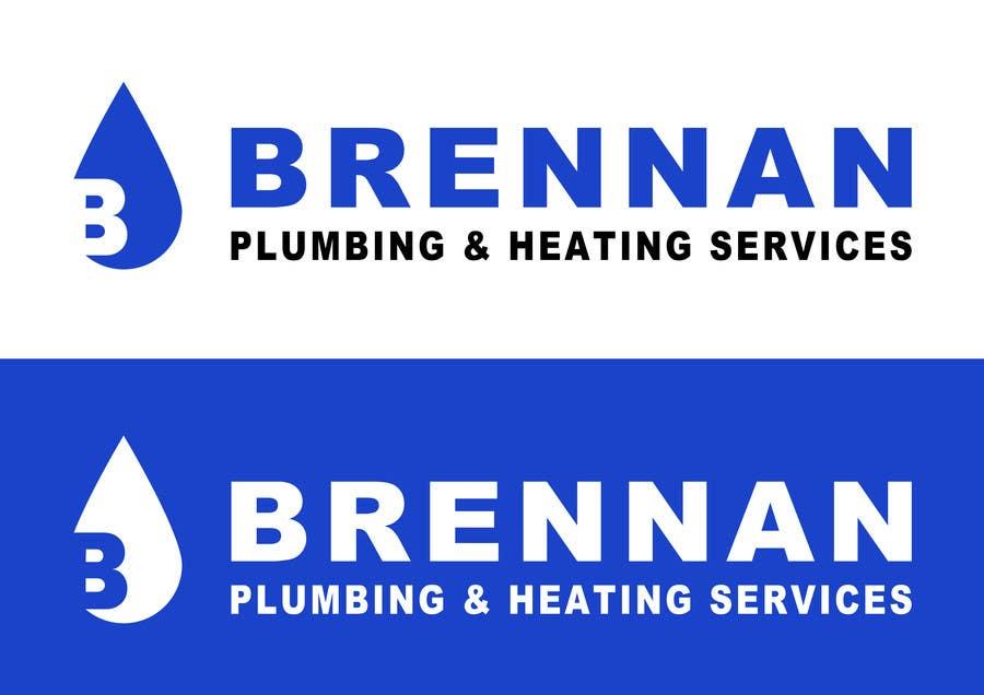 Konkurrenceindlæg #                                        64                                      for                                         Design a Logo for Brennan  Plumbing & Heating Services