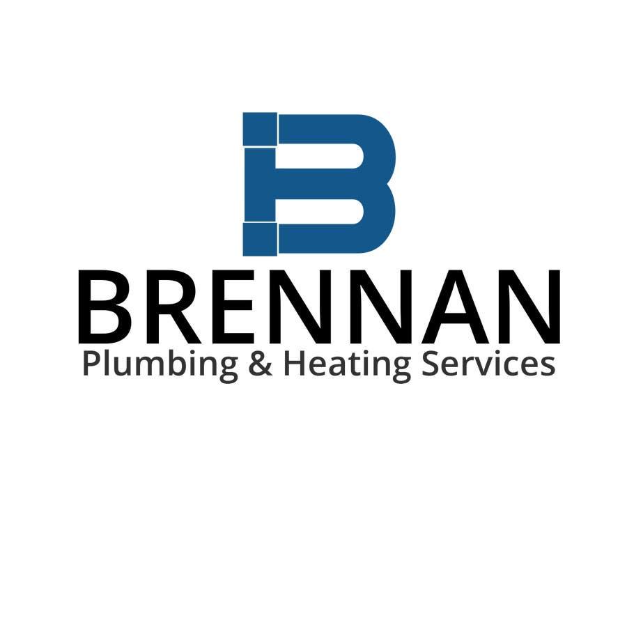 Konkurrenceindlæg #                                        12                                      for                                         Design a Logo for Brennan  Plumbing & Heating Services