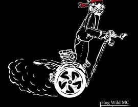 Rawbean tarafından Motorcycle T-Shirt Design for HOG WILD MC için no 13