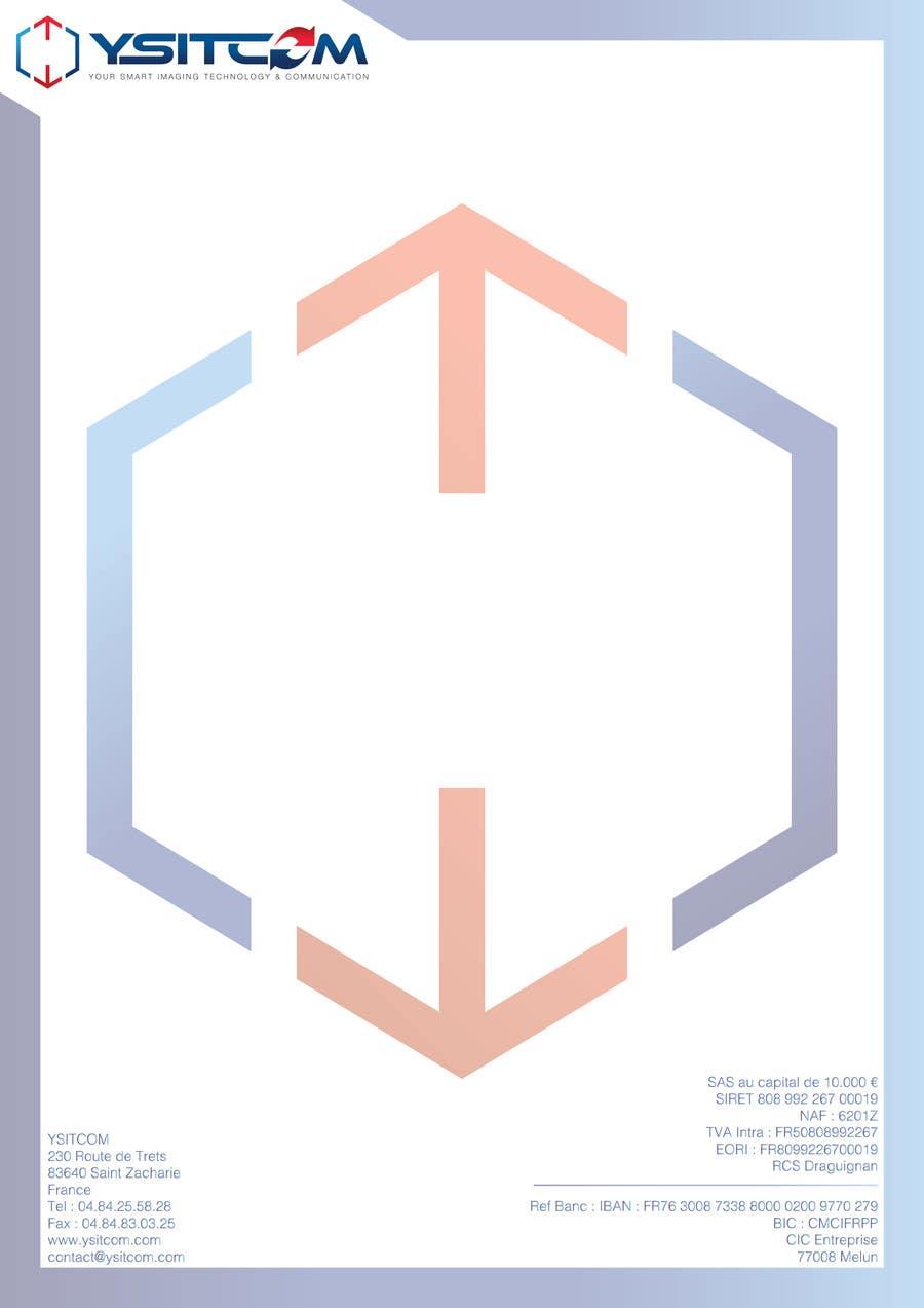 Konkurrenceindlæg #                                        5                                      for                                         Letterhead design for my company