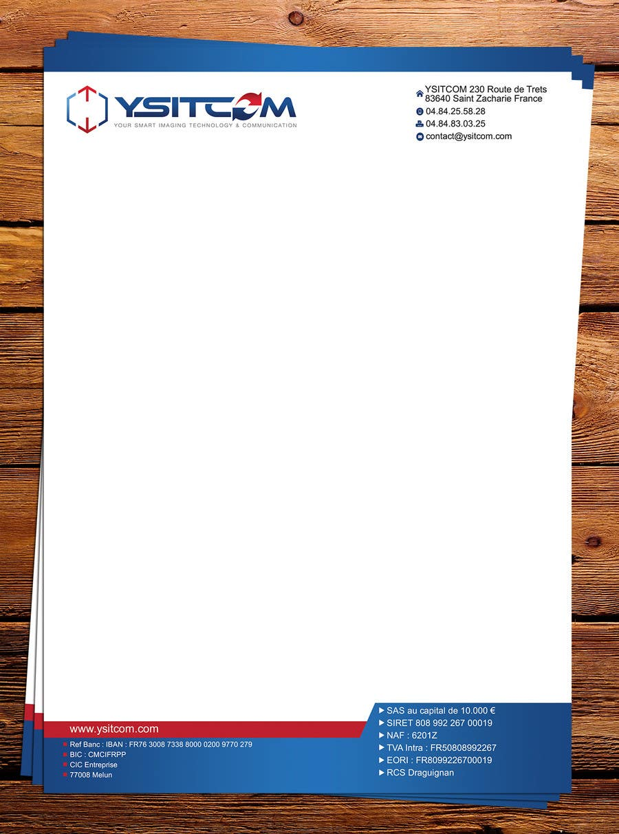 Contest Entry #20 for Letterhead design for my company