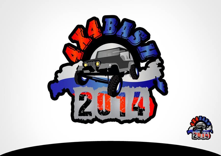 Kilpailutyö #5 kilpailussa URGENT! Graphic Design for 4x4 Bash 2014 logo