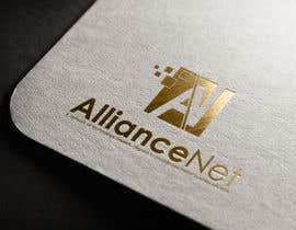 #162 untuk Design a Logo for AllianceNet oleh tolomeiucarles
