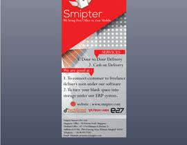 #11 untuk Design a Xstand Banner for Smipter : We bring Post Office to You oleh qazishaikh