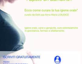 luxxxio tarafından Disegnare un Volantino LA SALUTE ORALE IN GRAVIDANZA E L'ALLATTAMENTO için no 16