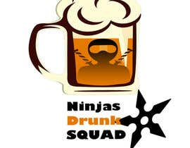 "nº 5 pour Desing Logo for clan ""Drunken Ninja Squad"" par PayAndMakeMyDay"