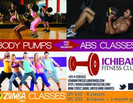 #6 for Zumba Abs Body Pump A5 Flyer by MadGavin