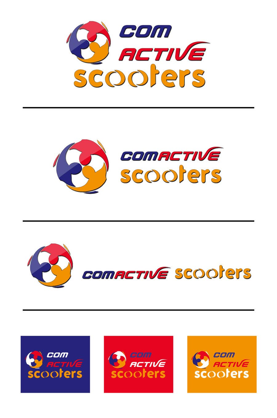 #8 for Logo Design for ComActive Scooters by AhmedElyamany