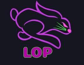 #102 para Conejo en colores neón Logo para empresa de pizza de Keryky
