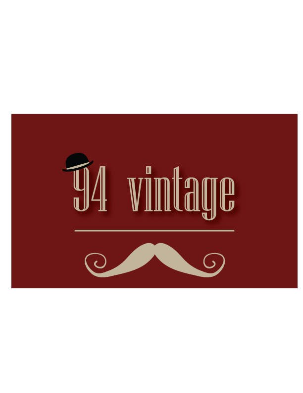 Konkurrenceindlæg #                                        7                                      for                                         Design a logo for a new online vintage clothing store