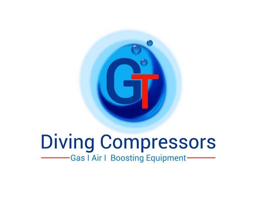 Konkurrenceindlæg #                                        27                                      for                                         Design a Logo for GT Diving Compressors