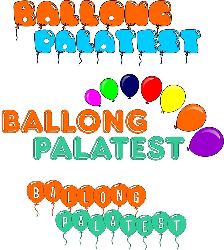 Konkurrenceindlæg #3 for Design a logo for Ballong palatset (Balloon palace)