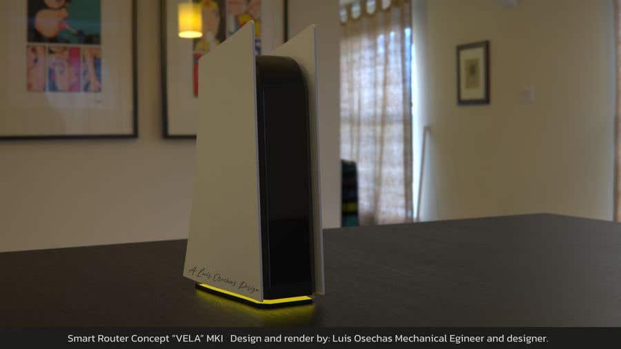 Kilpailutyö #                                        12                                      kilpailussa                                         3D Model of Smart Router