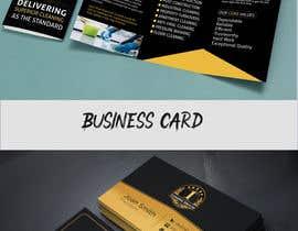 #69 для Need a Tri-Fold Brochure Design & Business Card от juwelranahanif