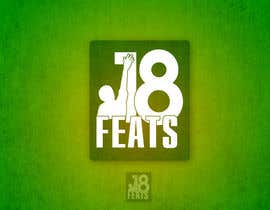 #36 untuk Logo Design for 18 Feats oleh srisureshlance