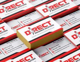 #288 untuk Direct Insurance Sol - Business Card Design oleh fatehsoft