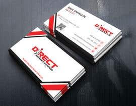 #285 untuk Direct Insurance Sol - Business Card Design oleh sunstaracademic