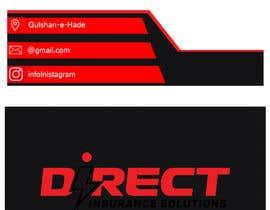 #283 untuk Direct Insurance Sol - Business Card Design oleh DAVILART