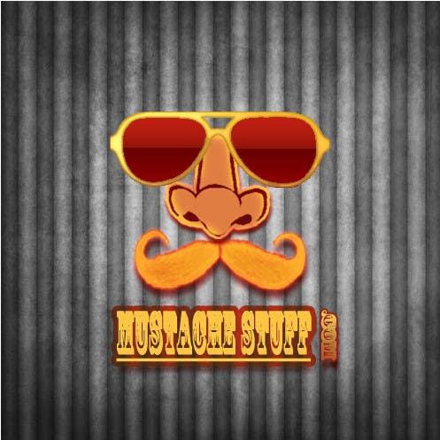 Proposition n°                                        50                                      du concours                                         Logo Design for MustacheStuff.com