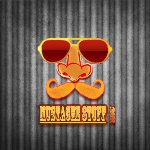 Proposition n°                                        53                                      du concours                                         Logo Design for MustacheStuff.com