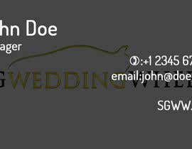 #9 for Design Business Cards / Logo for wedding car rental af chrisyalamov