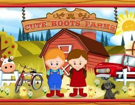 #5 para Illustration Design for Cute Boots Farms de richhwalsh