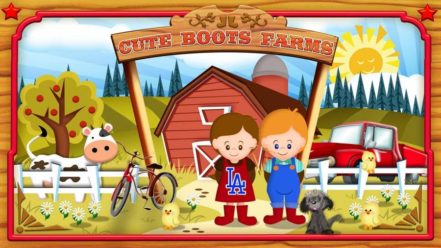 Contest Entry #7 for Illustration Design for Cute Boots Farms