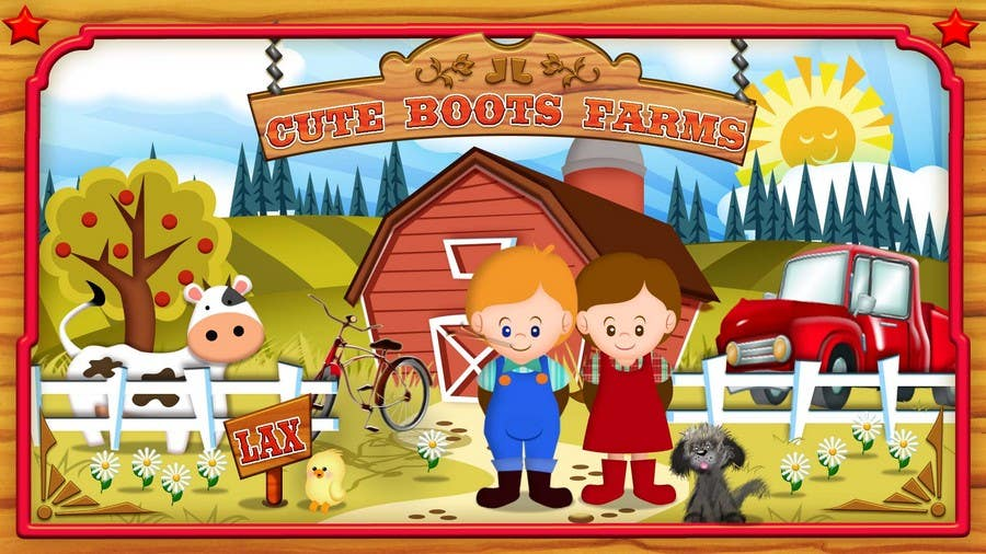 Contest Entry #10 for Illustration Design for Cute Boots Farms
