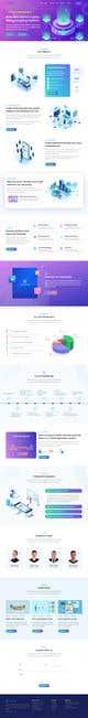 Konkurrenceindlæg #                                                21                                              billede for                                                 Ui designing for Static pages of a Crypto platform.