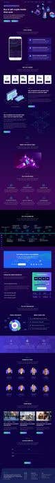 Contest Entry #                                                23                                              thumbnail for                                                 Ui designing for Static pages of a Crypto platform.