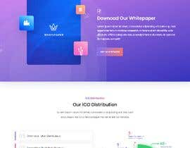 #24 for Ui designing for Static pages of a Crypto platform. af hiraahmmad999