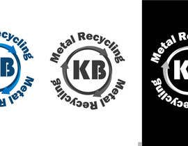 #10 para Design a Logo for K.B Metal Recycling por ezgimen