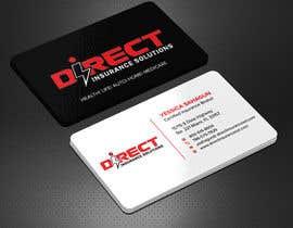 #124 untuk Direct Insurance Solutions - Business Card Design oleh Sadikul2001
