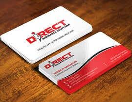 #127 untuk Direct Insurance Solutions - Business Card Design oleh Sadikul2001