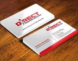 #126 untuk Direct Insurance Solutions - Business Card Design oleh Sadikul2001