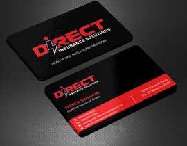 #128 untuk Direct Insurance Solutions - Business Card Design oleh Sadikul2001