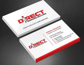 #130 untuk Direct Insurance Solutions - Business Card Design oleh Sadikul2001
