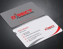#119 untuk Direct Insurance Solutions - Business Card Design oleh allaboutacademy