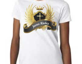 nº 7 pour Design a T-Shirt for Jesus Rules par moilyp