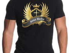 nº 8 pour Design a T-Shirt for Jesus Rules par moilyp