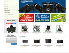 CreativeDezigner tarafından Banner Ad Design for Auto Parts website için no 26