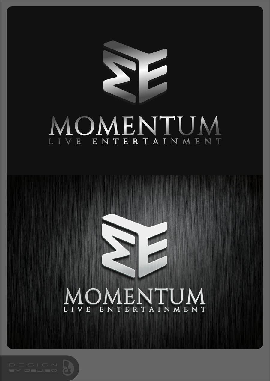 Konkurrenceindlæg #102 for Logo Design for Momentum Live Entertainment