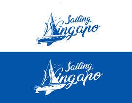 #444 untuk Sailing Wingapo Logo - for a family about to sail around the world oleh mezikawsar1992