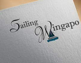 #252 untuk Sailing Wingapo Logo - for a family about to sail around the world oleh roksanaakter1