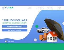 Nro 77 kilpailuun Website Home Page käyttäjältä Elnino251