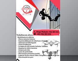 #132 para Flyer with the same visual identity as business cards por faryalsahar25