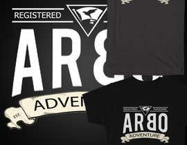 #18 para Design a T-Shirt for ARBO ADVENTURE por zikoblade