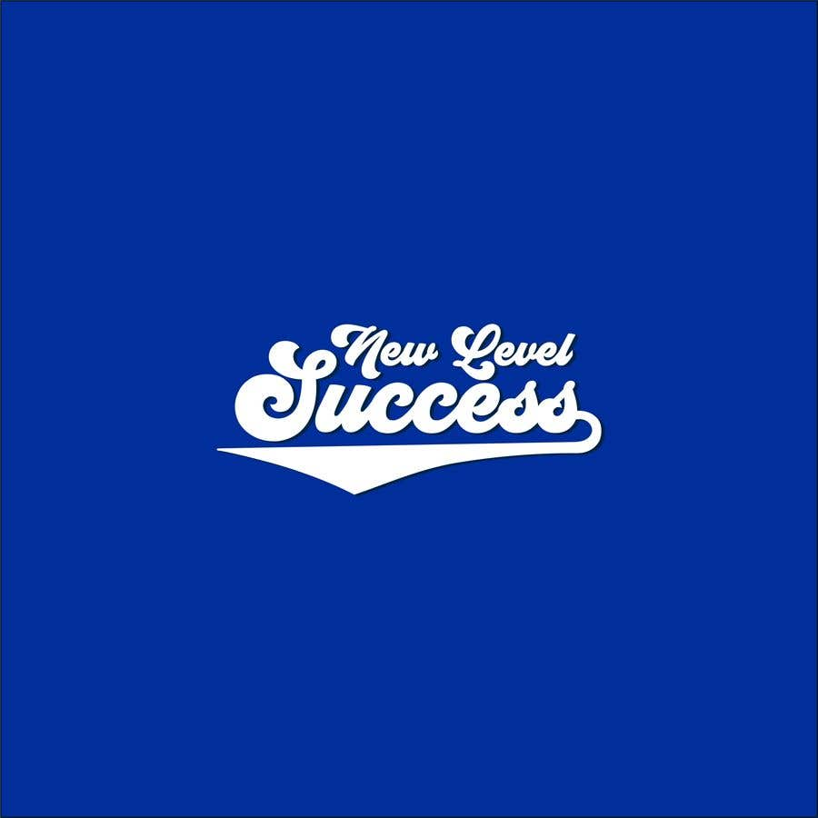 """Penyertaan Peraduan #                                        77                                      untuk                                         I need a logo designed. I want """"New Level Success"""" in the same style as the Dodgers logo that I will be attaching. - 05/04/2021 23:17 EDT"""
